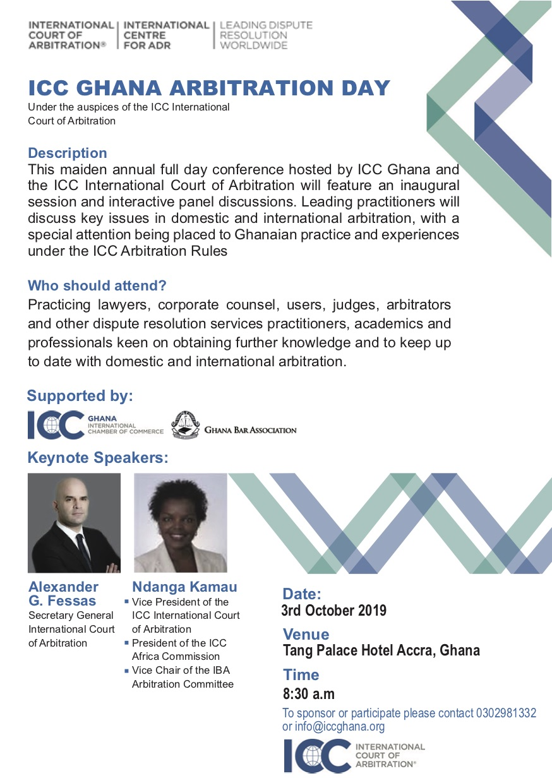 ICC Ghana Arbitration Day